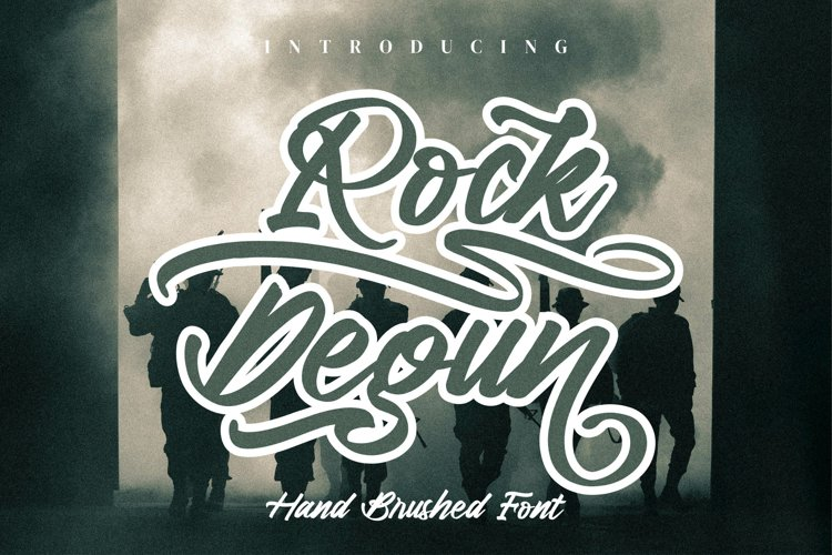 Rock Degun example image 1