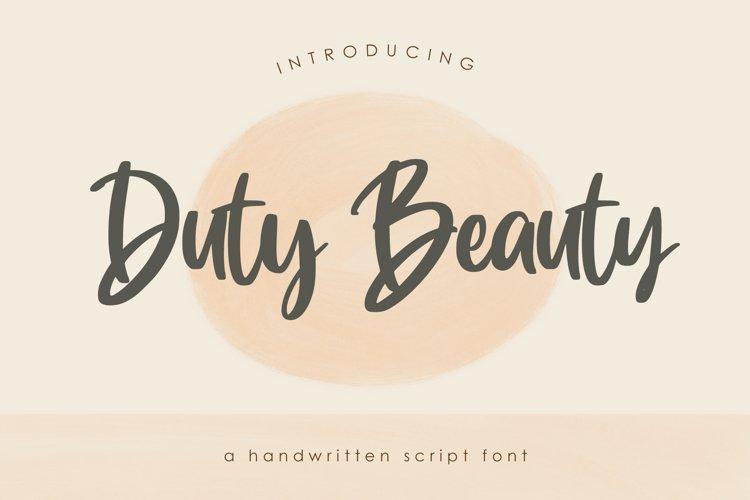 Duty Beauty example image 1