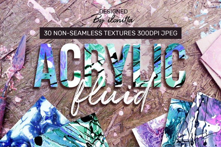 Acrylic Fluid – 30 Textures example image 1