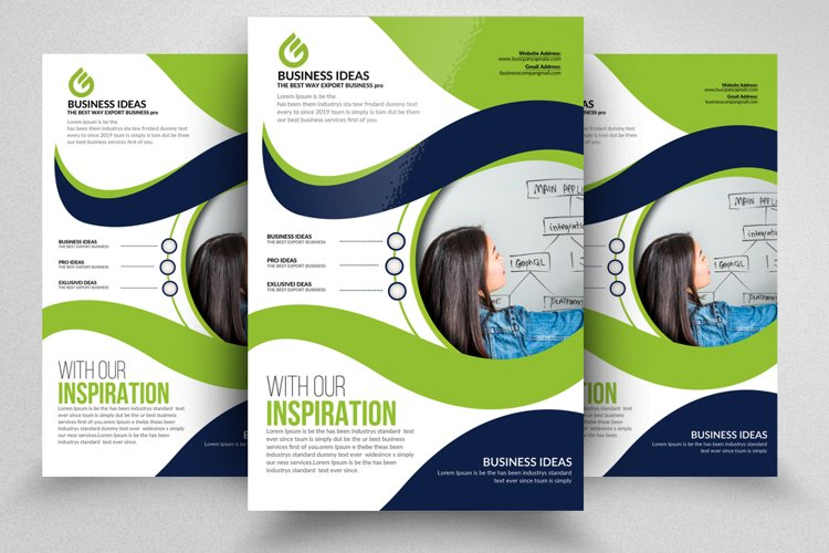 Business Orientation Flyer Template & Ad example image 1