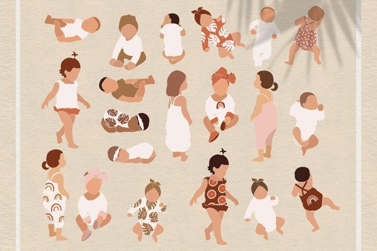 Abstract kids clipart example image 1