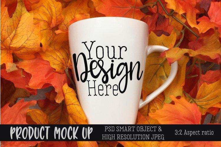 Fall mug Craft mock up   PSD & JPEG example image 1