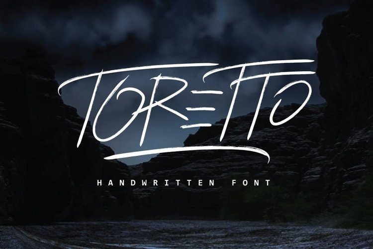 Web Font Toretto Typeface example image 1