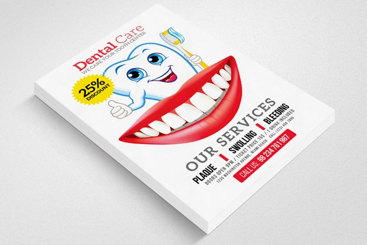 Dental Care Center Flyer example image 1