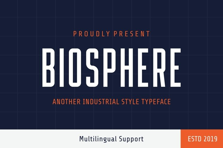 Biosphere - Another Industrial Style example image 1