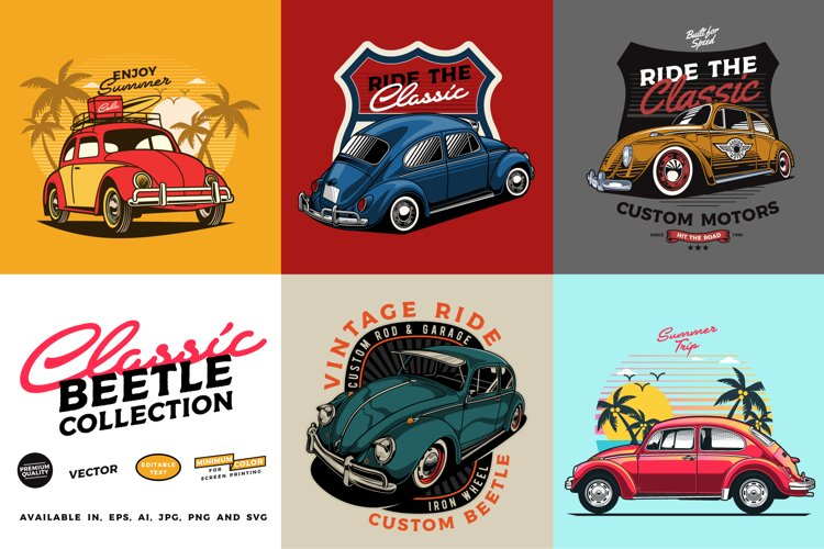 Classic Beetle Car Collection