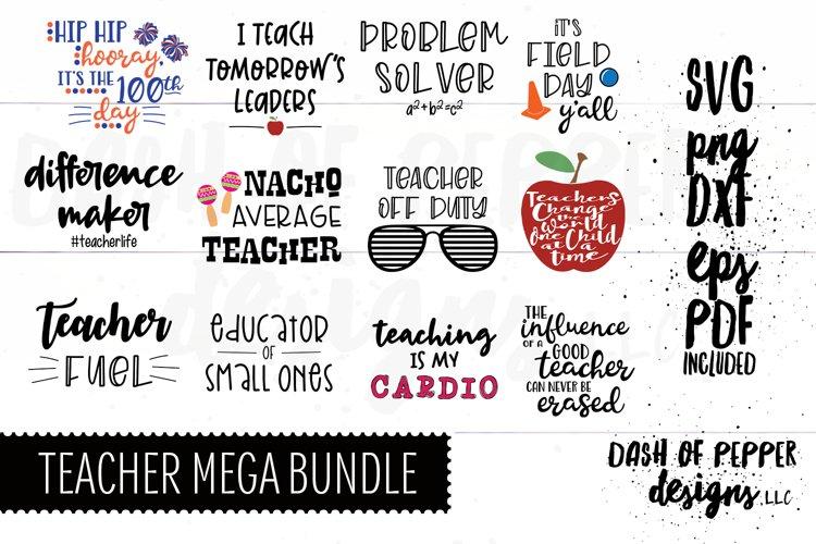 Teacher Mega Bundle 3SVG - A Teacher Bundle SVG