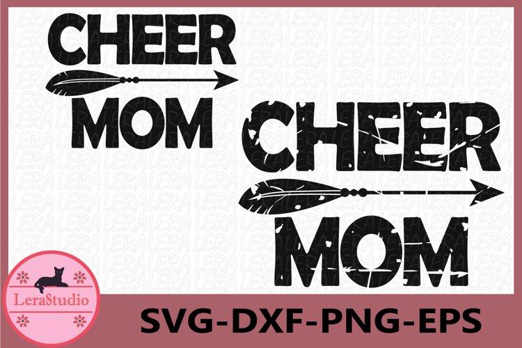 Cheer svg, Cheer Mom svg, Cheer Mom Clipart