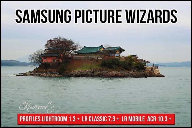 Samsung Picture Wizards profiles Lightroom ACR
