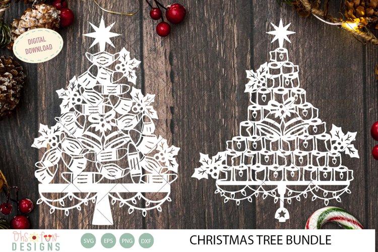Bundle christmas tree svg, toilet paper and mask quarantine example image 1