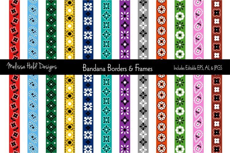 Download Bandana Border Patterns Frames 151899 Decorations Design Bundles