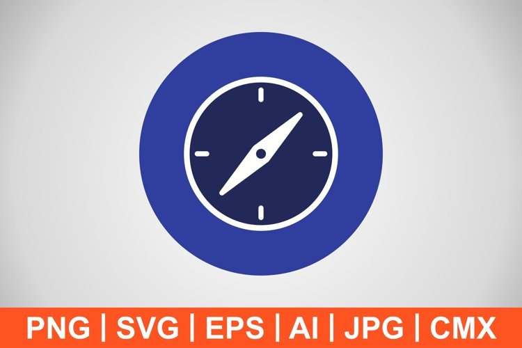 Vector Compass Icon example image 1