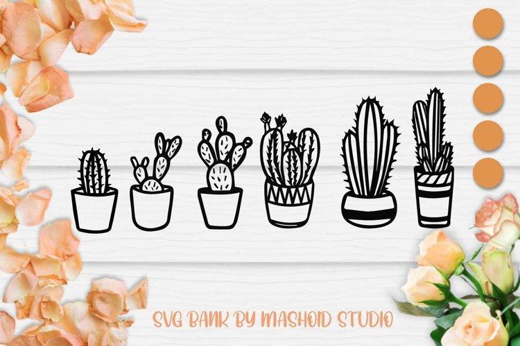 Cactus SVG files vol 2, Cactus Cut File, Succulent SVG