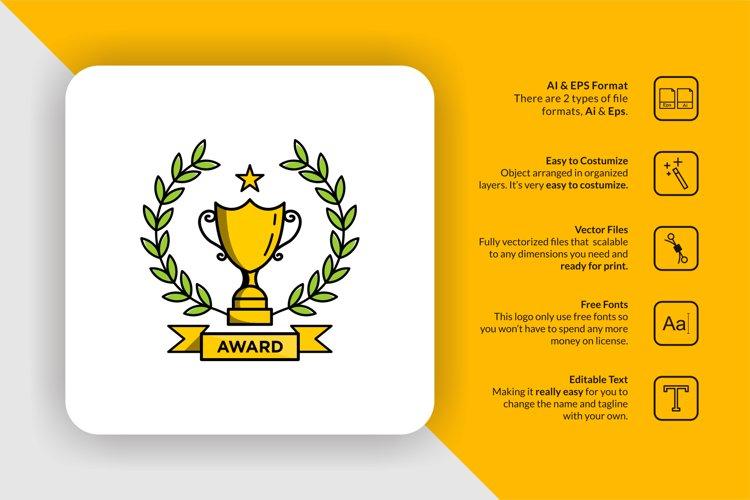 Trophy Award Logo Template example image 1