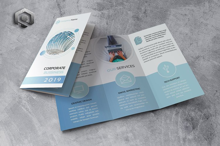 Corporate Trifold Brochure example image 1