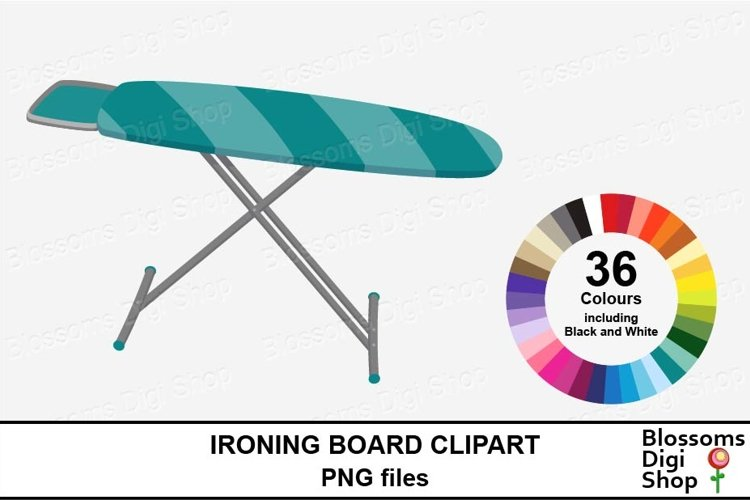 Ironing Board Clipart example image 1