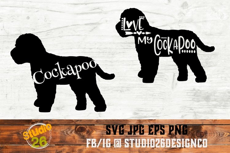 Cockapoo - Bundle - SVG PNG EPS example image 1