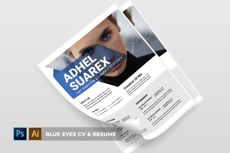 Blue Eyes | CV & Resume example image 1