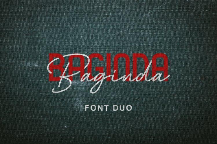 Baginda Font Duo example image 1