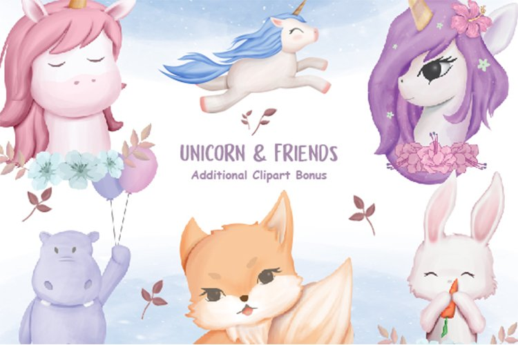 Unicorn and Friends example image 1