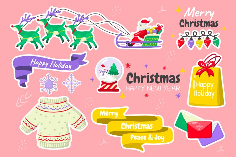 Christmas Elements Vol.4 example image 1