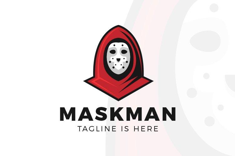 Mask Man Logo example image 1