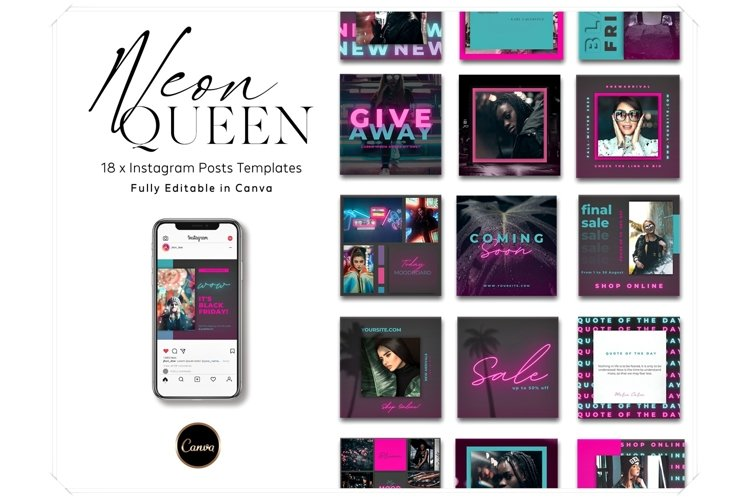 Instagram Posts Canva Template