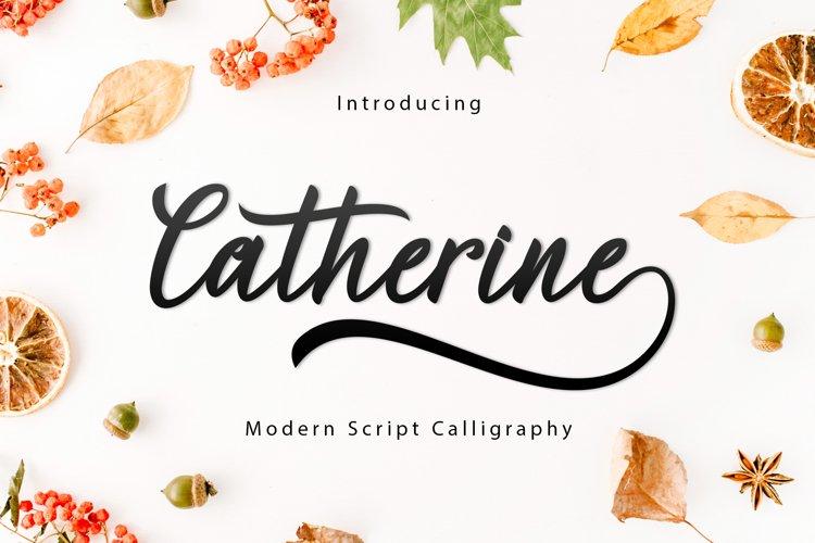 Catherine Script example image 1
