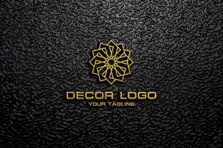 Decorative Logo example 2