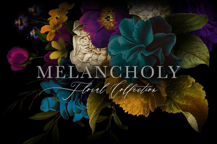 Melancholy Floral Collection