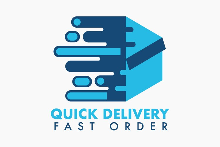 Quick Delivery Logo example image 1