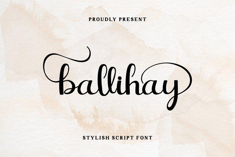 Ballihay