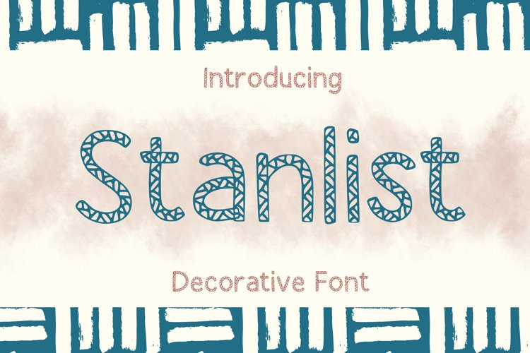 Stanlist Font example image 1