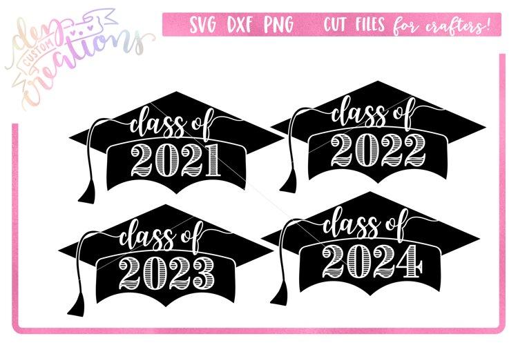 Class of 2021 Grad Cap Bundle - SVG DXF PNG Digital files