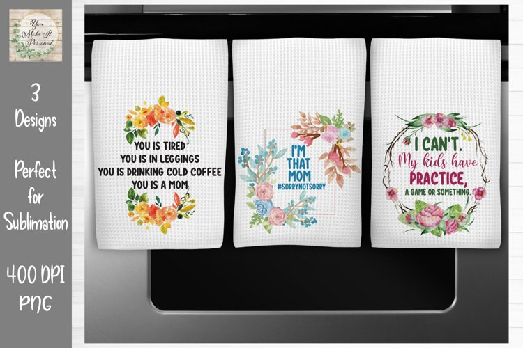 Mom Quotes - Perfect for Sublimation - Mother's Day Bundle example image 1