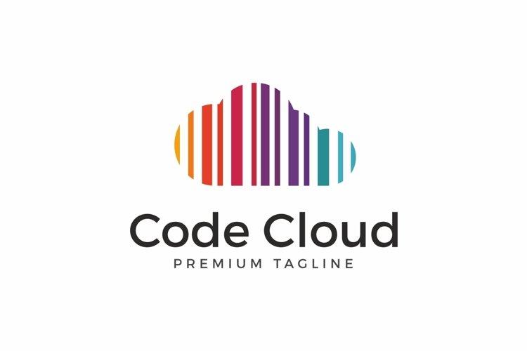 Code Cloud Logo example image 1