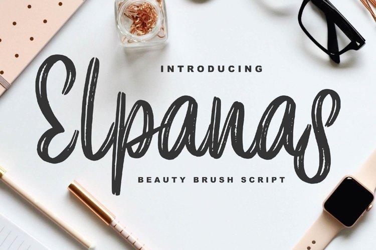 Elpanas - Beauty Brush Script example image 1