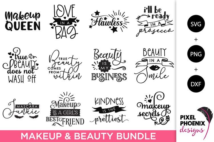 Makeup SVG Bundle, Beauty SVG Bundle - 12 Files example image 1