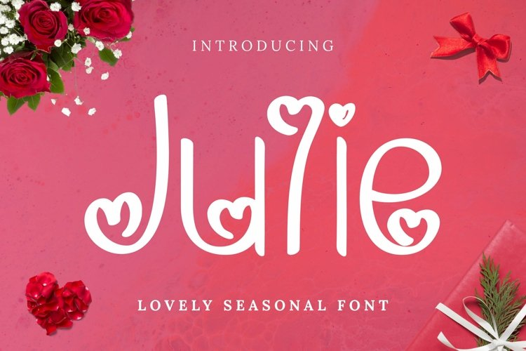 Web Font Julie Font example image 1