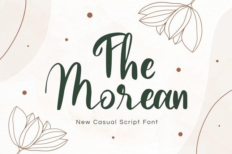 Morean Display Font example image 1