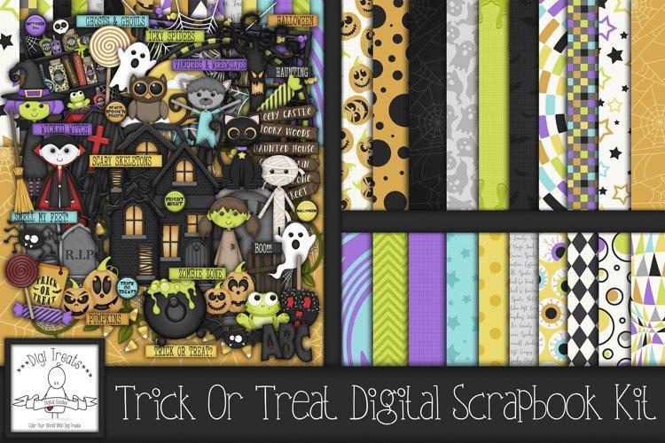 Trick Or Treat? Digital Scrapbook Kit