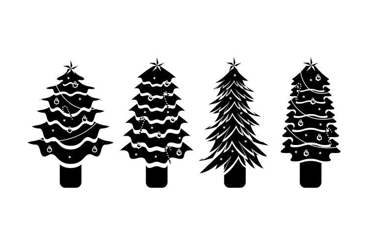 Christmas Tree Illustrations