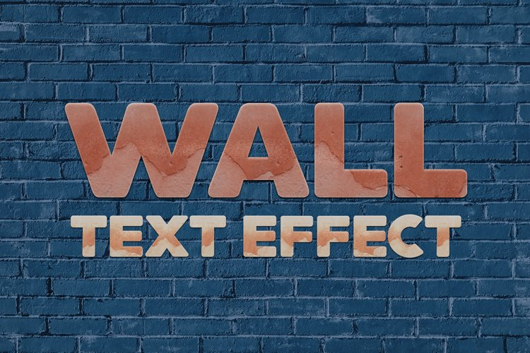 36 Grunge Wall Style Text Effect