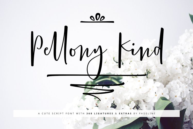 Pellony Kind Cute + Extras example image 1