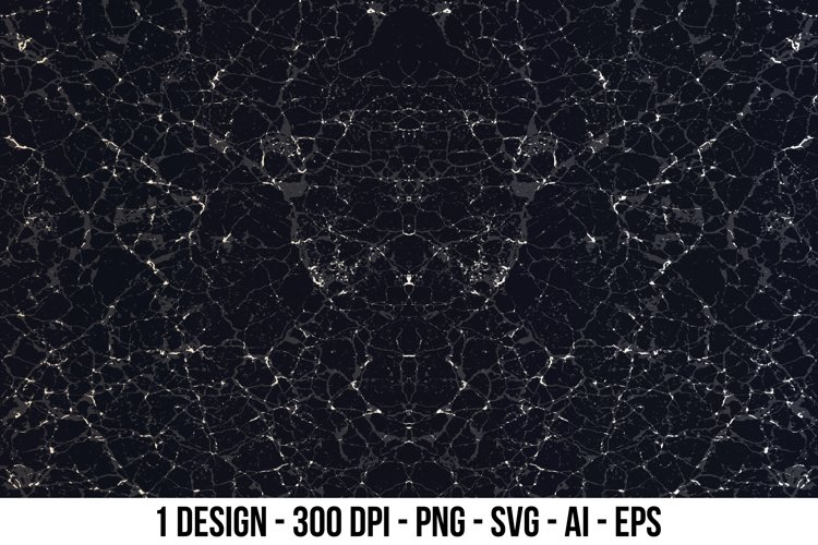 Black natural marble texture. example image 1