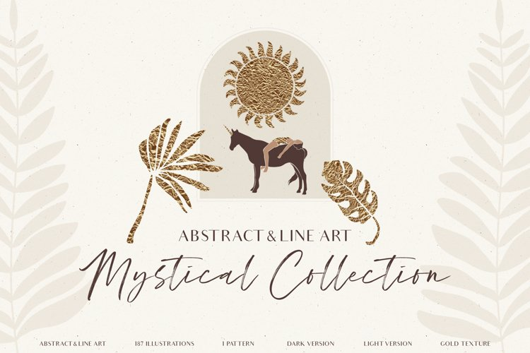 Mystical Abstract Collection example image 1