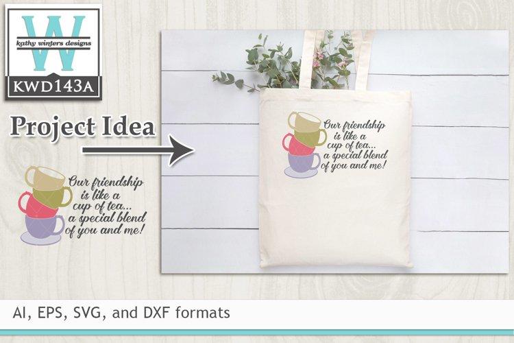 Tea SVG - Like A Cup Of Tea example image 1