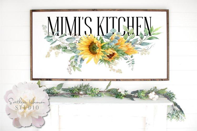 MIMIS KITCHEN, Sunflowers - PNG