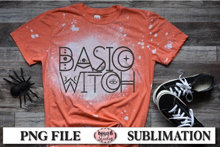 Basic Witch Sublimation Design, Vintage, Retro Halloween example image 1
