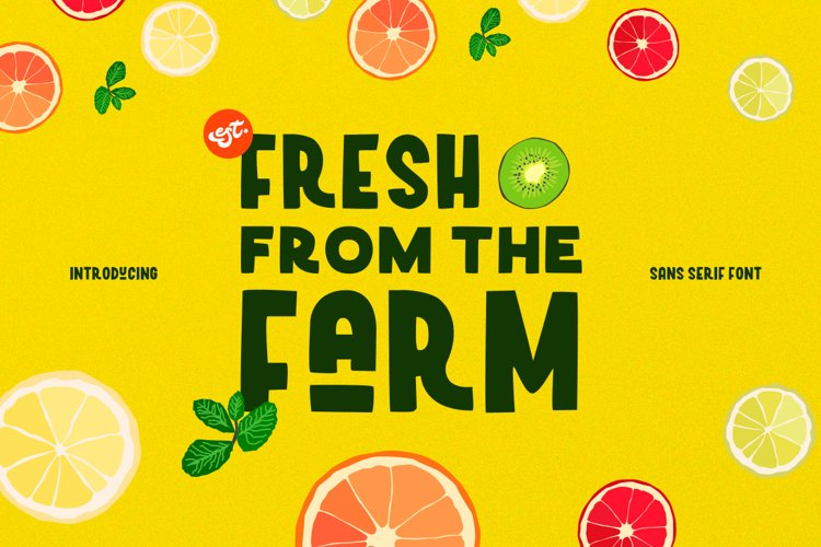 Fresh From the Farm example image 1